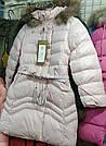 Куртка на девочку с ремешком, фото 8