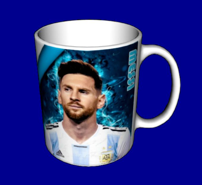 Чашка Аргентина Месси