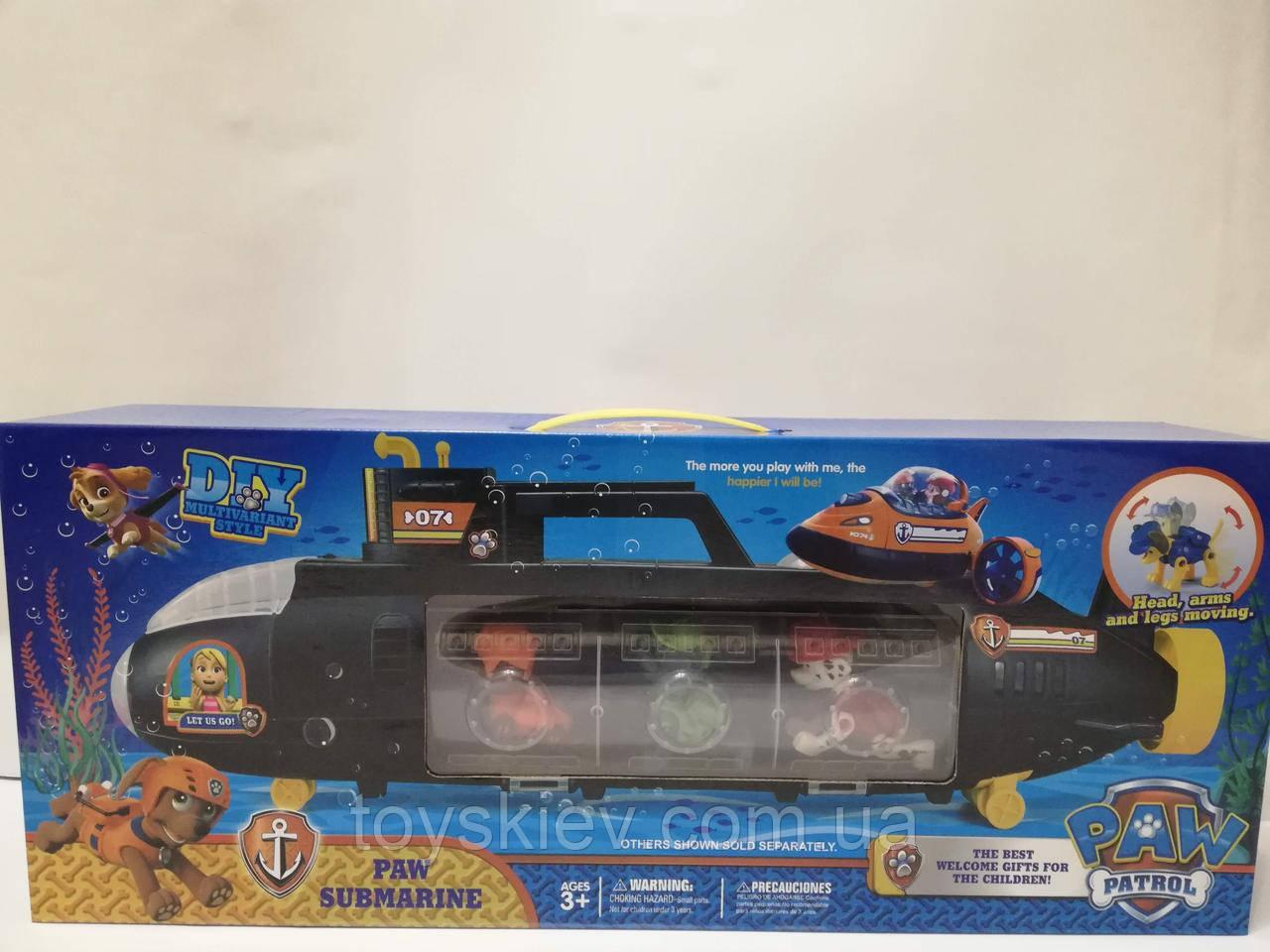 Подводная лодка Щенячий Патруль Paw Patrol Щенячий патруль XZ871