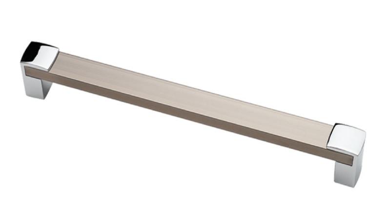 Ручка мебельная Ozkardesler 14.424-06/021  ALM BURC BOY KULP 128мм Хром-Сталь