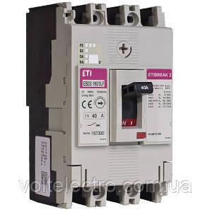 Автоматические выключатели EB2S 160/3LF 125A 3p