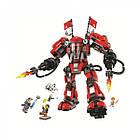 Конструктор Bela 10720 Ninjago Movie Ниндзяго (аналог Lego 70615) «Огненный робот Кая», 980 дет., фото 3