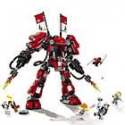 Конструктор Bela 10720 Ninjago Movie Ниндзяго (аналог Lego 70615) «Огненный робот Кая», 980 дет., фото 4