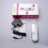 Ультразвуковой скрабер - аппарат для чистки кожи лица , ультразвуковая чистка , очищення обличчя ультразвуком