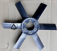 Крыльчатка вентилятора на трактор ЮМЗ Д-65-1308050П пластиковая (улучшеная)