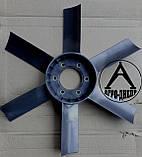 Крыльчатка вентилятора на трактор ЮМЗ Д-65-1308050П пластиковая (улучшеная), фото 2