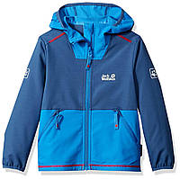 f37099618200 Куртка дощова Jack Wolfskin Boy s Turbulence Jacket, 176 (14 Years   Older),