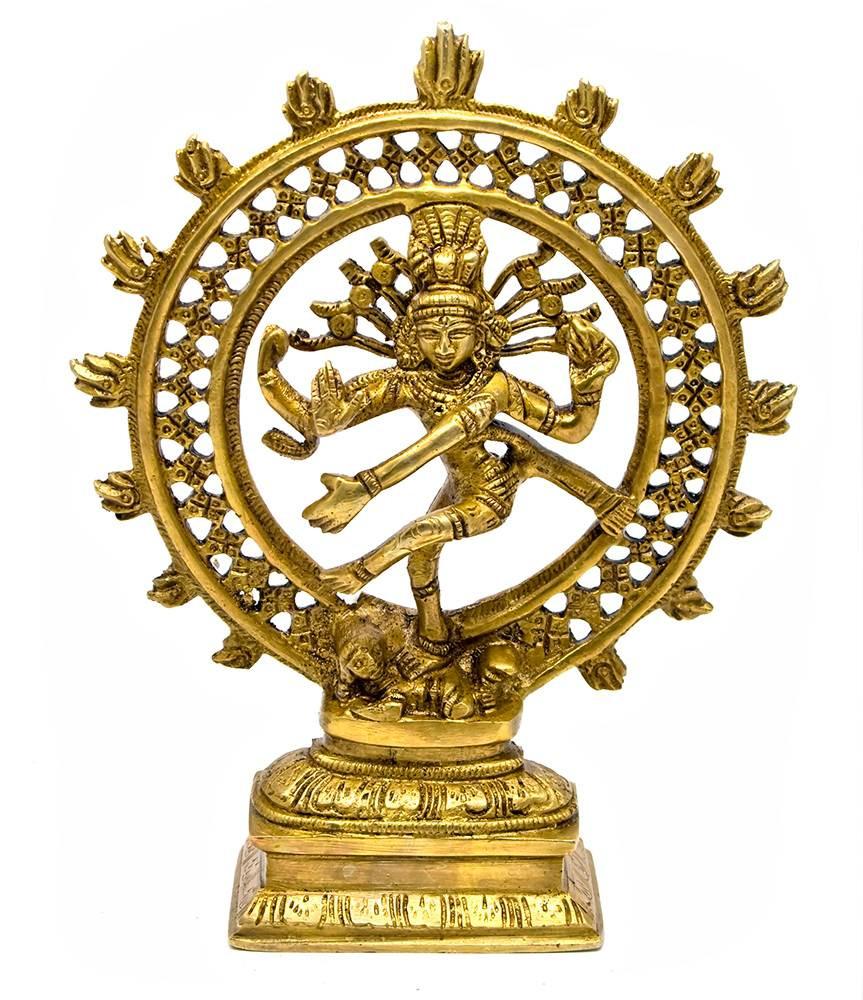 Статуэтка из бронзы Шива-Натарадж
