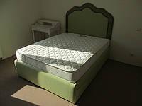 """Двуспальные кровати с мягким изголовьем """"Зеленый луг"""", фото 1"""