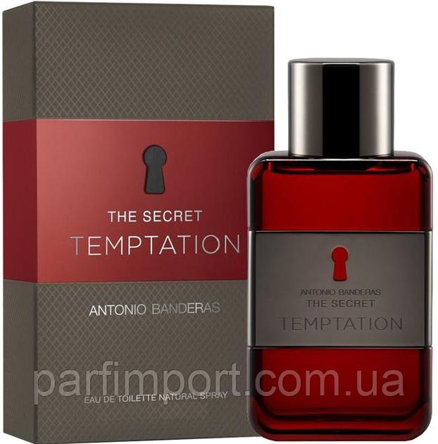 ANTONIO BANDERAS Secret Temptation EDT 200 ml  туалетная вода мужская (оригинал подлинник  Испания)