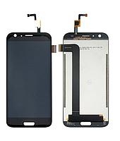 Дисплей (экран) для Doogee BL5000 с сенсором (тачскрином) черный, фото 2