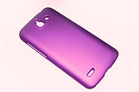 Пластиковый чехол для Huawei Ascend G730-U10 DualSim фиолетовый