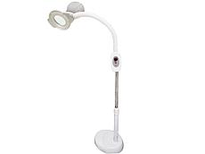 LED Лампа-лупа напольная с регулировкой яркости и высоты