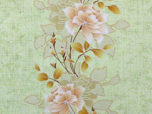 Обои на стену, цветы, крупный рисунок, акриловые, B76,4 Лейла 7048-04, 0.53*10м