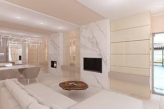 Гостиная  Pikart Round White, фото 3