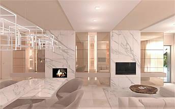 Гостиная  Pikart Round White, фото 2