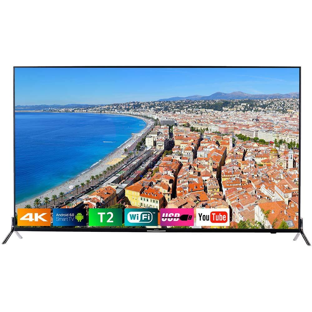 "Телевизор 55"" Bravis ELED-55Q5000 3840x2160 +T2"