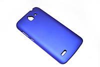 Пластиковый чехол для Huawei Ascend G730-U10 DualSim синий