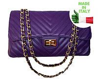 Женская сумка на плечо Итальянская кожа Bottega Carele