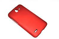 Пластиковый чехол для Huawei Ascend G730-U10 DualSim бордовый