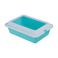 Туалет для кошек Trixie с бортиком 27 x 12 x 37 см (пластик, цвета в ассортименте) 4041