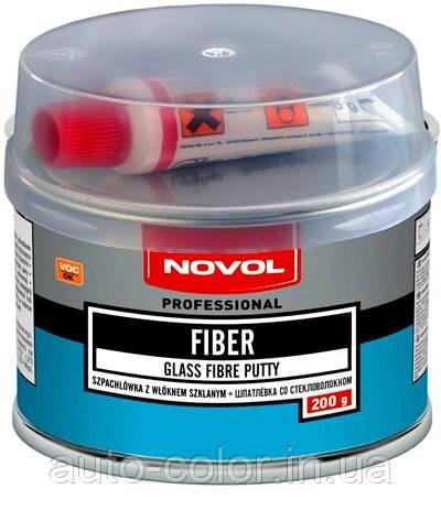 NOVOL FIBER поліефірна Шпаклівка зі скловолокном 0.2 кг
