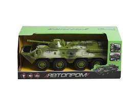 """Модель боевой машины БТР-80 из серии """"Автопарк"""" (зеленый) 9629B"""