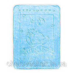 Теплый плед Baby Mix TG-6159 blue 80*110 см