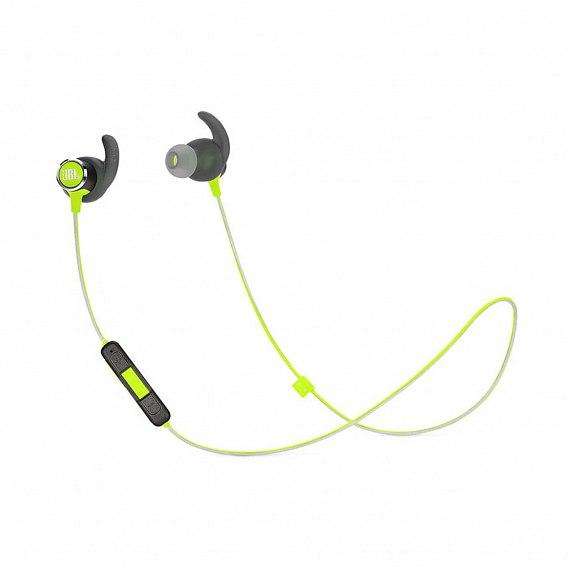 Наушники JBL In-Ear Headphone Reflect Mini 2 BT Green (JBLREFMINI2GRN)