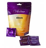 Презервативы - Vibratissimo XX…S Vanilla, 49 мм, 18шт