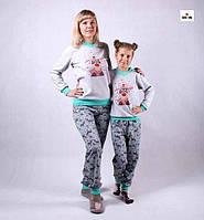 0867ce70ea38 Пижама серая махровая оптом в категории пижамы детские в Украине ...