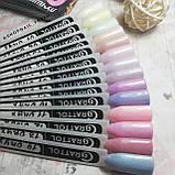 Grattol Color Gel Polish LS Onyx 14 (дымчато-голубой, с серебристыми микроблестками), фото 2