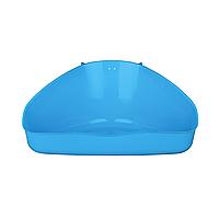 Туалет для грызунов Trixie угловой 16 x 7 x 12/12 см (пластик, цвет не выбирается) 6254