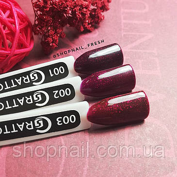 Grattol Color Gel Polish LS Ruby 03, фото 2