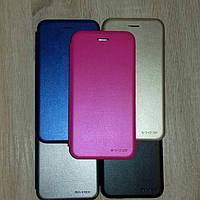 Чехол книжка G-Case Huawei Honor 7x (blc, gold, pink)