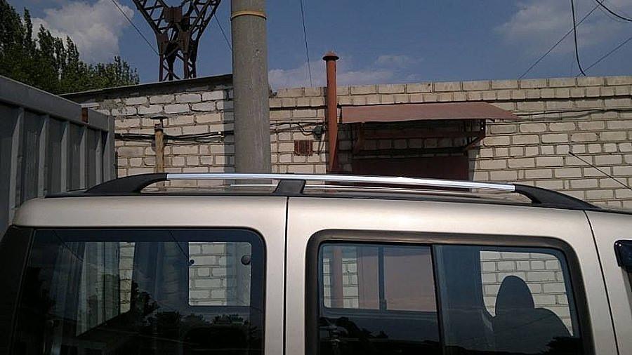 Рейлинги Fiat Doblo 2000-2010 /коротк.база /Хром /Abs
