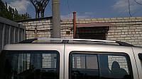 Рейлинги Fiat Doblo 2000-2010 /коротк.база /Хром /Abs, фото 1
