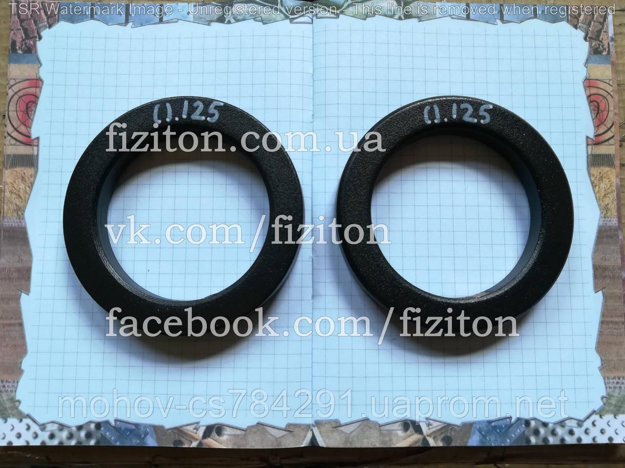 Блин (диск) стальной 0,125 кг + покраска