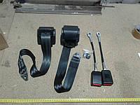 Ремни безопасности трехточечные инерционные Konmaks 3 метра, 2 штуки без болтов с заглушками