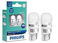 """Светодиодные лампы """"Philips"""" W5W LED 4000К (12V)"""