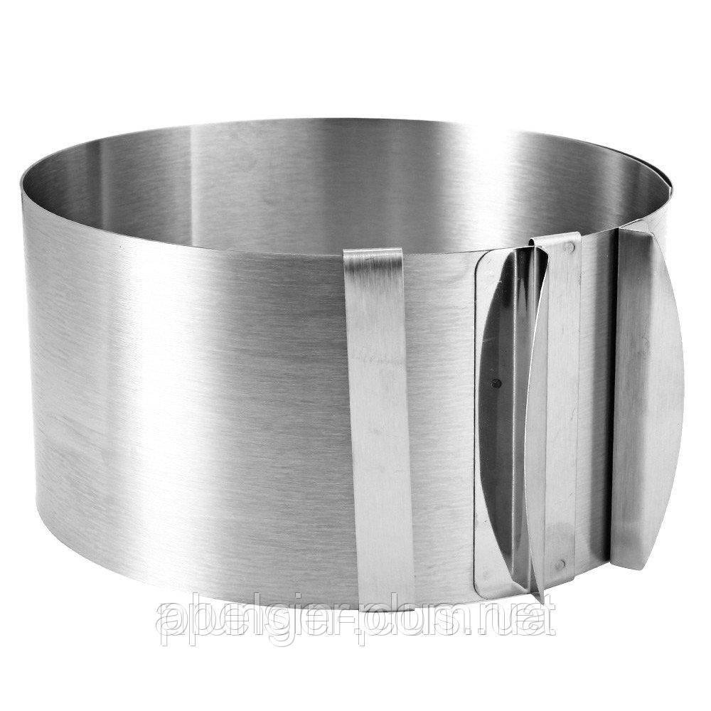 Форма для выпечки металлическая раздвижная Круг, высота 13 см