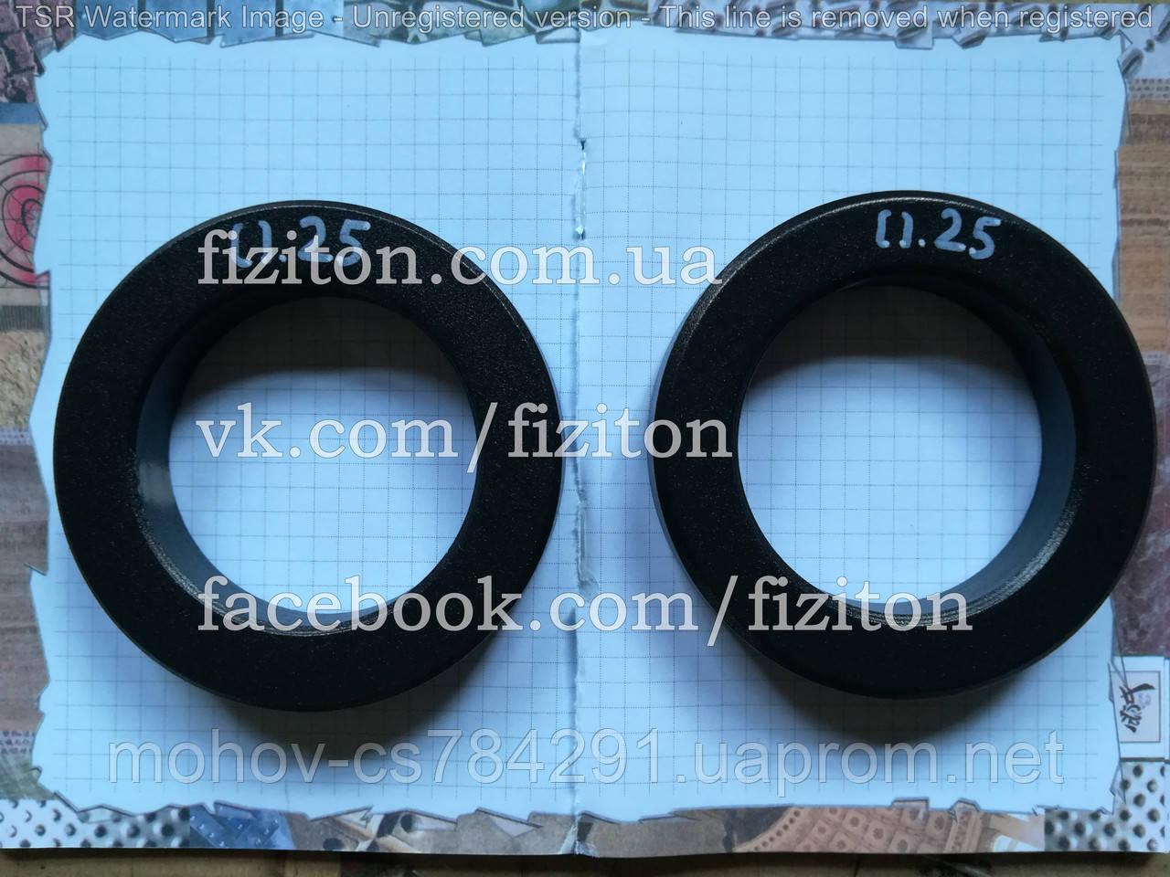 Блин (диск) стальной 0,25 кг + покраска