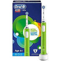 Новинка Електрична зубна щітка дитяча Braun Oral-B Junior Sensi Ultrathin 6+ 70e03969675e7