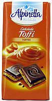 "Шоколад молочный Alpinella ""Toffi"" 100г."