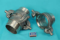Гайка РОТ Ду-100 исполнение 1  в комплекте со штуцером под приварку