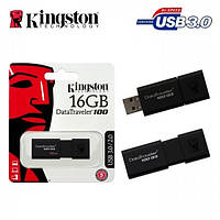 Модуль FD 16GB KINGSTON Flash Drive DT100 G3 USB 3.0 (DT100G3/16GB), Read up to 80 Мбайт/сек.
