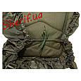 Защитный чехол MIL-TEC для рюкзака до 130 л (Olive), 14060001, фото 3