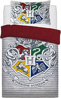 Постельное белье полуторный комплект Гарри Поттер подарок для мальчика