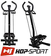 Степпер зі стійкою Hop-Sport HS-25S для будинку і спортзалу, фото 1