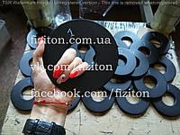 Блин (диск) стальной 1 кг + покраска, фото 1